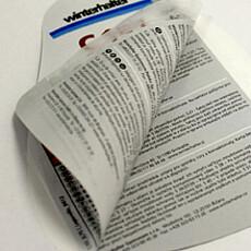 Mehrseitiges Informationsetiketten