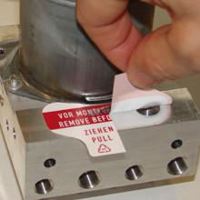 Staub-Schutz-Etiketten